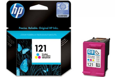 Картридж  HP CC643HE Tri-Colour Ink Cartridge №121 for F4283\D2563,1663 4ml