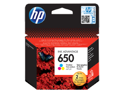 Картридж  HP CZ102AE Tri-color Ink Cartridge№650 for Deskjet Ink