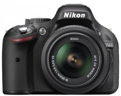Цифр. Фотоаппарат Nikon D-5200KIT\24,7Mpix\ZOOM-Nikkor 18-55mm\2,5LCD\RAW зеркальный\смен объектив
