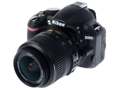 Цифр. Фотоаппарат Nikon D3100KIT\14,2Mpix\ZOOM-Nikkor 18-55mm\3,0LCD\RAW зеркальный\смен объектив