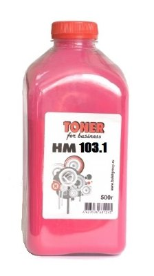 Тонер HM103.1 500g bottle Magenta